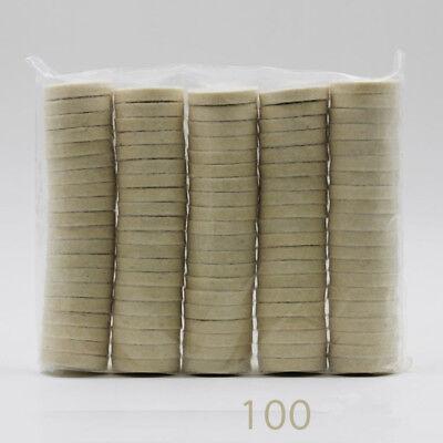 100 Dental Wheel Polishing Brush Wool Disc Wool Rotary Tools Jewelry Hard Soft