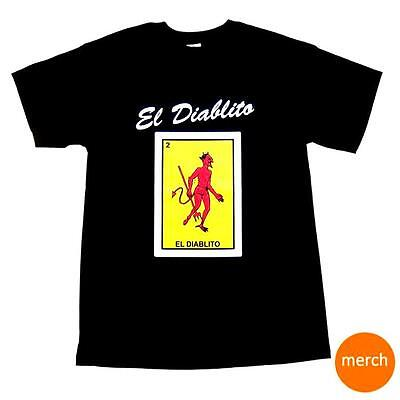 El Diablito Loteria T-Shirt Devil Black Halloween Costume Day of the Dead Mexico - El Costumes