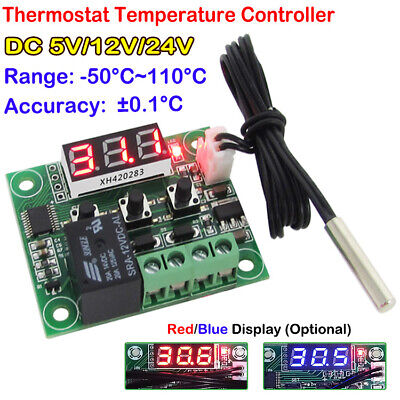 Dc51224v Thermostat Temperature Controller Digital Display Switch Module Board
