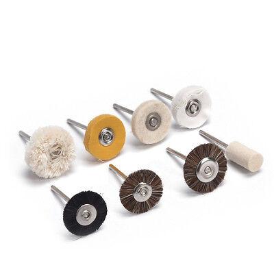 8typle Dental Buffing Polishing Polisher Wheel Brush Dentist Lab Equipment 20pcs