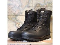 Military Issue Black Alt-Berg Boots