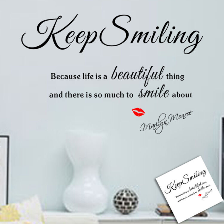 Home Decoration - Wall Sticker Home Decor Removable Art Vinyl Decal Quote AUS STOCK, FAST POST!