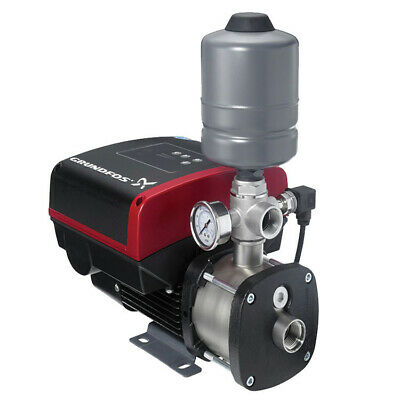 Grundfos Cmbe 1hp 115v 24gpm 60psi Booster Pump