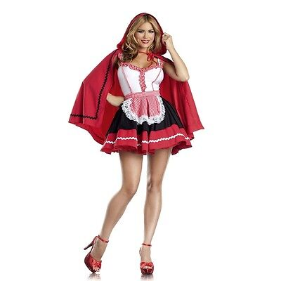 Women's Sexy Little Red Riding Hood Fairy Tales Adult Halloween Costume Party ](Halloween Fairy Tales Costumes)