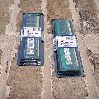 Computer Hardware - Kingston ValueRAM 512 MB DIMM 400 MHz DDR Memory ()