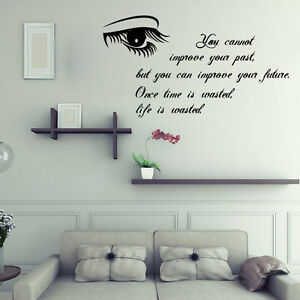 you cannot living room bedroom removable wall sticker