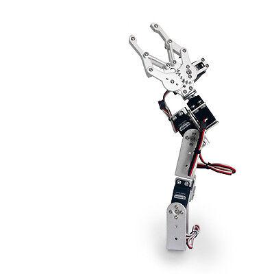 4Dof Mechanical Robot Arm Clamp Claw Manipulator Diy Kit For Arduino Robotics