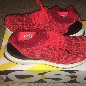 Ultraboost Uncaged Solar Red Size 8.5
