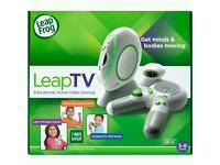 Leap tv console + games