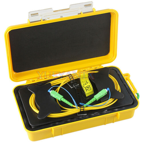 Optical Fiber Optic SC APC SM 9/125um 1310/1550nm 2KM OTDR Launch Cable Box Ring