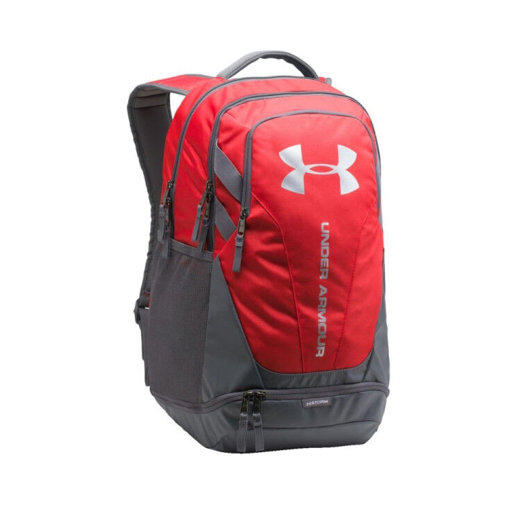 New With Tags Under Armour Hustle UA Storm 3.0 Backpack Laptop School Bag    Color Red c90768dc63