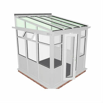 2.5m x 2.5m DIY LEAN TO - EUROCELL CONSERVATORY***ALL SIZES AVAILABLE***  for sale  Swadlincote