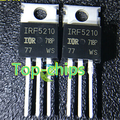 10pcs New Irf5210 Irf5210pbf Power Mosfet To-220 New