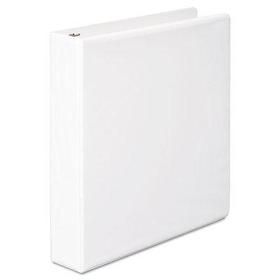 Wilson Jones Basic Dring Vinyl View 3ring Binder 112 Capacity White