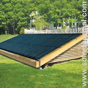 Solar Pool Heating - Reduce CO2 Emissions and your fuel bill!