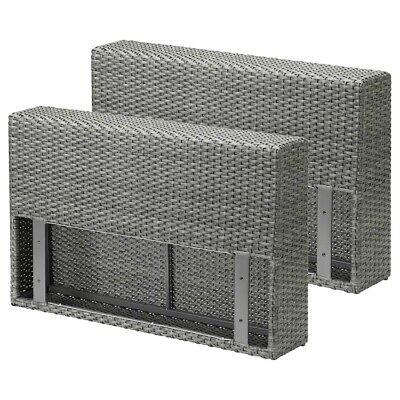 Ikea solleron Armrest Section Outdoors Grey