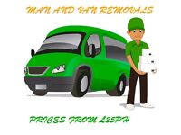 MAN AND VAN SERVICE FROM £25PH- REMOVALS, STORAGE, UK, EUROPE- AFFORDABLE, PROFESSIONAL & RELIABLE