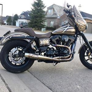REDUCED FULL CUSTOM 2014 Harley Dyna FXDL Low Rider