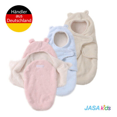 JASA kids: Baby Schlafsack innen weich gefüttert Pucksack auch für Neugeborene  ()