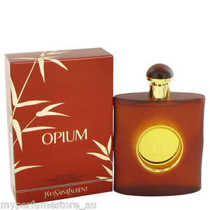 YSL OPIUM 90ml EDT SPRAY FOR WOMEN BY YVES SAINT LAURENT ----- NEW WOMAN PERFUME