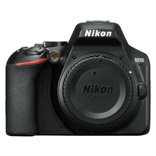 Nikon D3500 Digital SLR Camera Black Body only with Extras