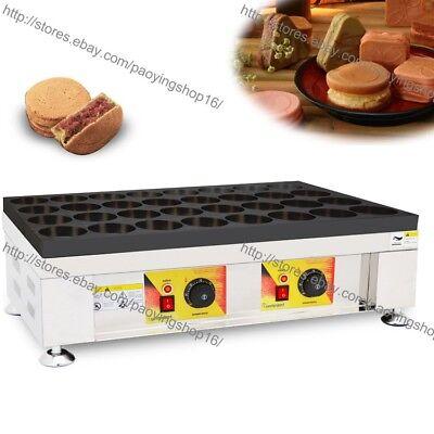 32-H Nonstick Electric Red Bean Wheel Cake Oven Machine Japanese Bean Cake Maker