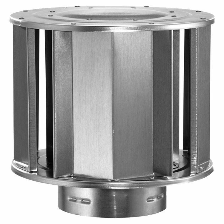 """M&G DuraVent 3"""" Round Gas Vent High-Wind Cap - 3GVVTH"""