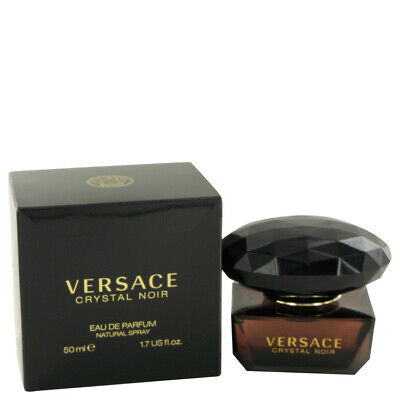 Crystal Noir by Versace 1.7 oz 50 ml EDP Spray Perfume for Women New in Box