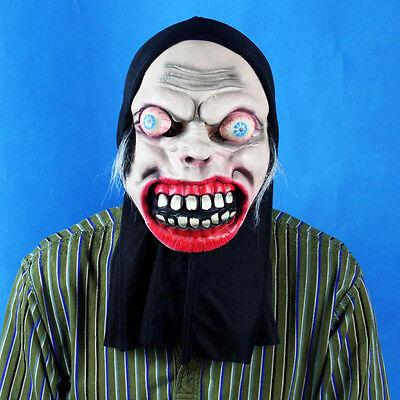 Halloween Maske Mask Verrückte Hexe Party Zombie Horror Karneval (Verrückte Halloween Masken)
