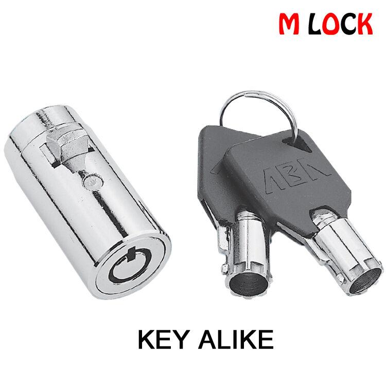 Vending Plug Lock Universal Replacement Pepsi Snake Soda Machine Black Key cover