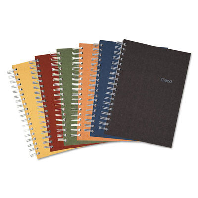 Mead Recycled Notebook College Ruled 9 12 X 6 120 Sheets Perforated Assorted