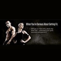 Personal meal and workout plan