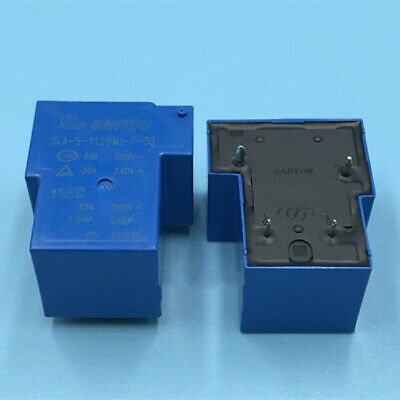 Sanyou Sla-s-112dmj-f-30 Power Relay 4 Pin 30a 250vac