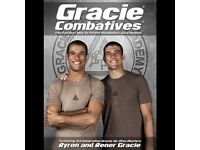Gracie jiu jitsu combatives DVDS brazilian jiu jitsu bjj gi Kimono POSTAGE AVAILABLE mma ufc belt