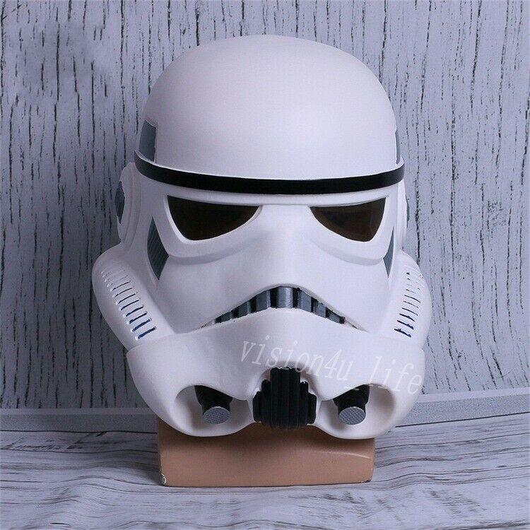 Halloween Star Wars Helmet Cosplay The Black Series Imperial Stormtrooper Helmet