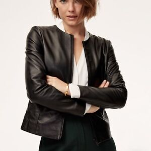 Aritzia Babaton - Jett Leather Jacket XXS