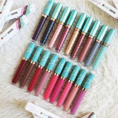 Beauty Bakerie Lip Whip Matte metallic liquid lipstick NIB~Choose your shade