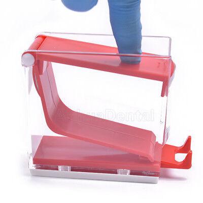 Dental Dentist Push Style Cotton Roller Dispenser Holder Press Type 4 Colours