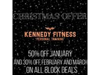 PERSONAL TRAINER - 50% OFF JANUARY DEAL + MORE!!