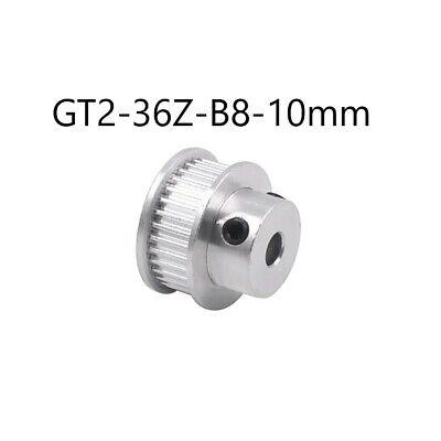 GT2 Zahnrad - Pulley 36Zähne 10mm Ø 8mm Riemenscheibe - CNC / 3D Drucker online kaufen