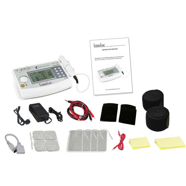 NEW COMBOCARE E-STIM AND ULTRASOUND COMBO PROFESSIONAL DEVICE