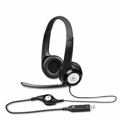 Logitech H390 USB Headset w/Noise-Canceling Microphone 981000014