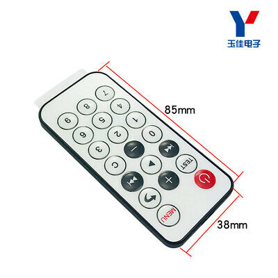 5pcs 20-key Mini Remote Control