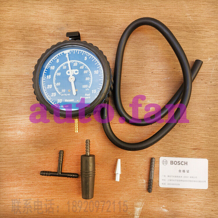 Suitable for Bosch new car vacuum pressure gauge / measuring instrument set