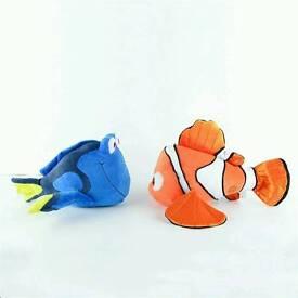 New Dory & Nemo plush toys