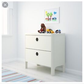 Ikea white chest of drawers, Excellent condition