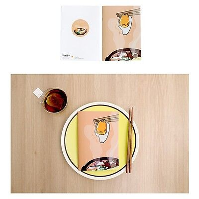 Sanrio Gudetama Lazy Egg Mini A5 Size Lined Notebook Note Pad : Hot Soup
