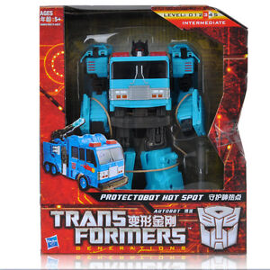 New Transformers Generations Voyager Protectobot Hot spot GDO Fall of Cybertron