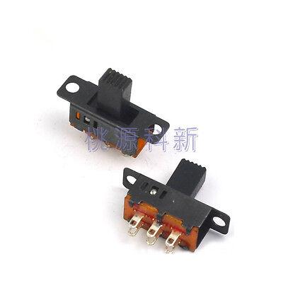 20pcs Slide Switch 3 Position 2p3t 6 Pin Ss23d32 0.5a 50v Dc