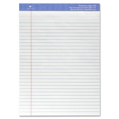 Perforated Wide Pad 50 Sheets 8-12 X 11-34 Inches White